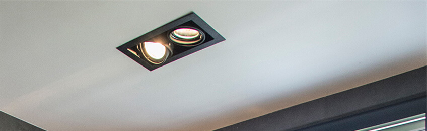 LED ceiling spotlights