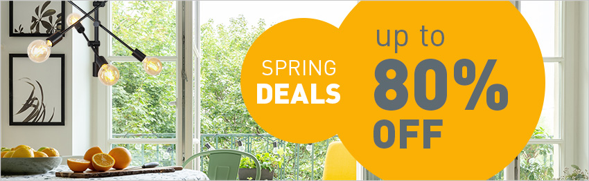Spring Deals with lampandlight