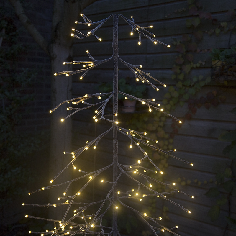 Christmas Tree Pine Snow LED 1.65 Meters - lampandlight.ie