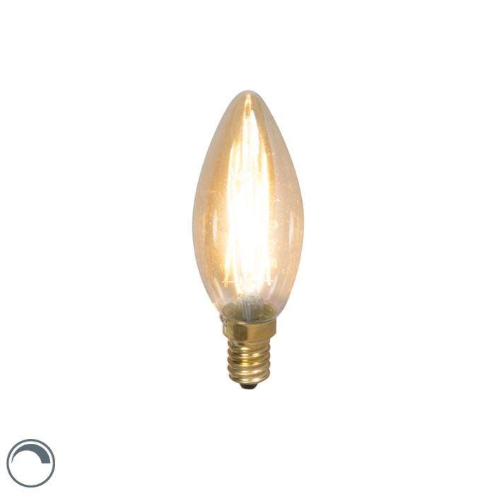 E14-LED-Candle-Gold-Filament-3.5W-200LM-2100K-Dimmable