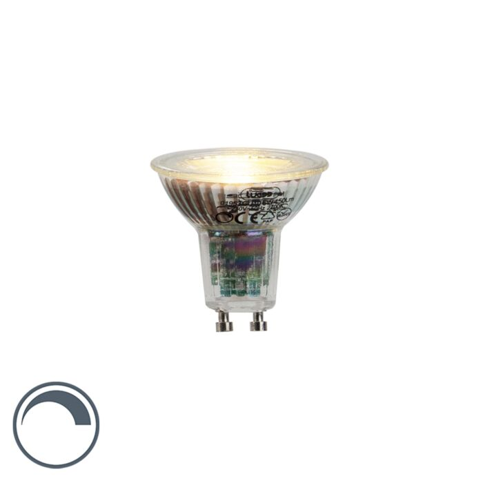 GU10-LED-6W-450LM-2700K-Dimmable