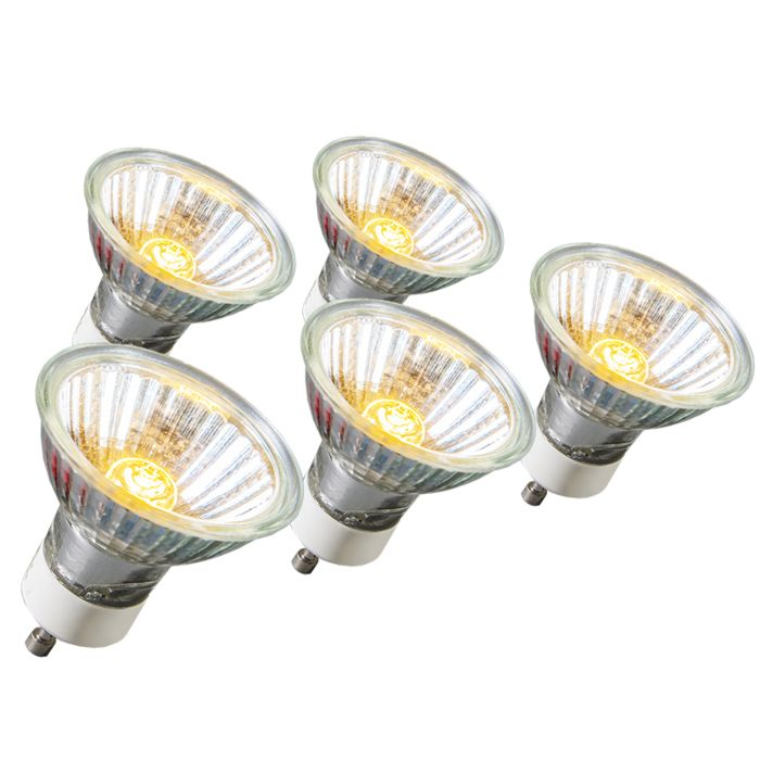 Set-of-5-GU10-Halogen-18W-95LM