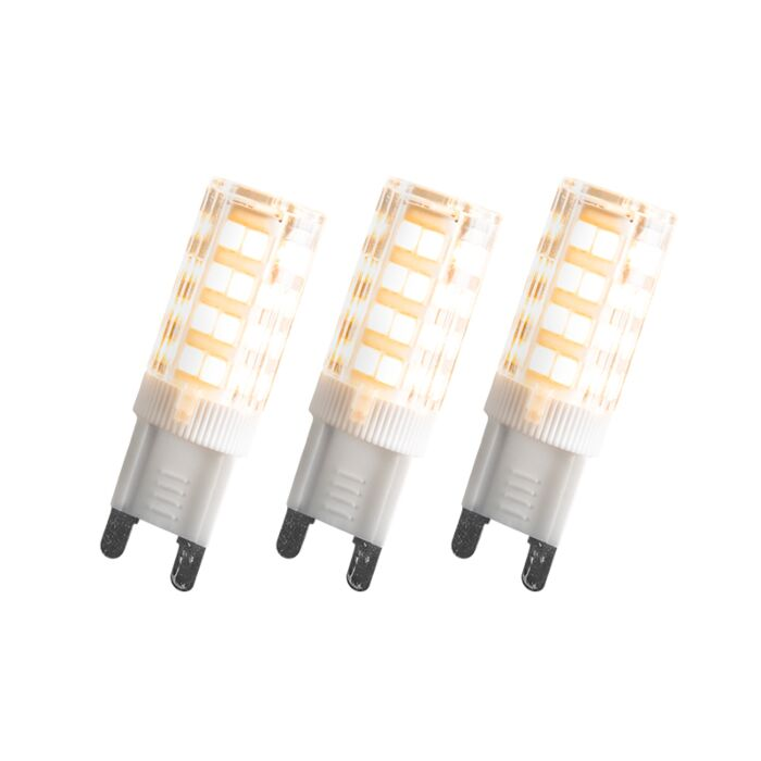 Set-of-3-G9-LED-3.3W-200LM