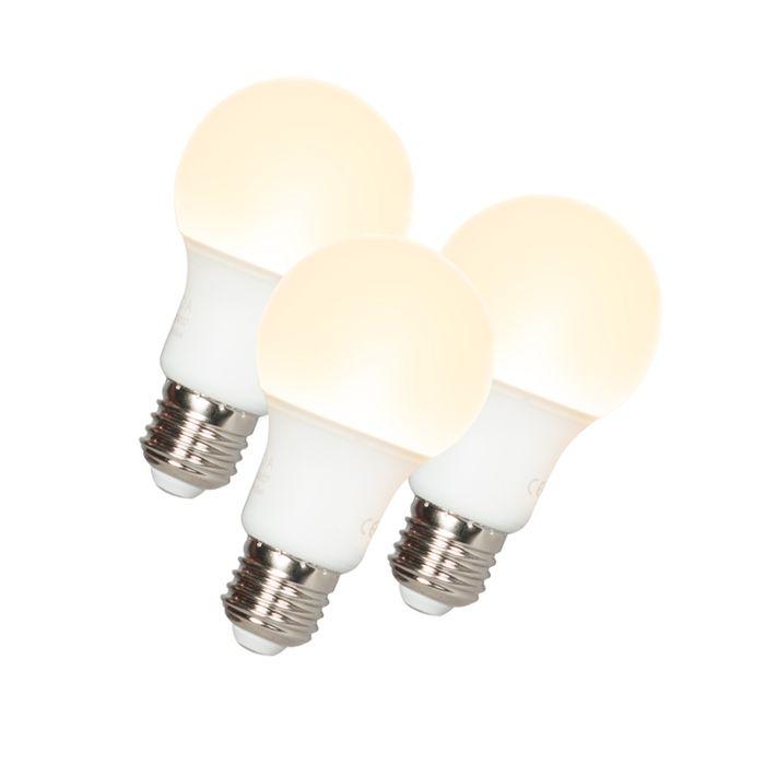 Set-of-3-E27-LED-A60-9W-810LM