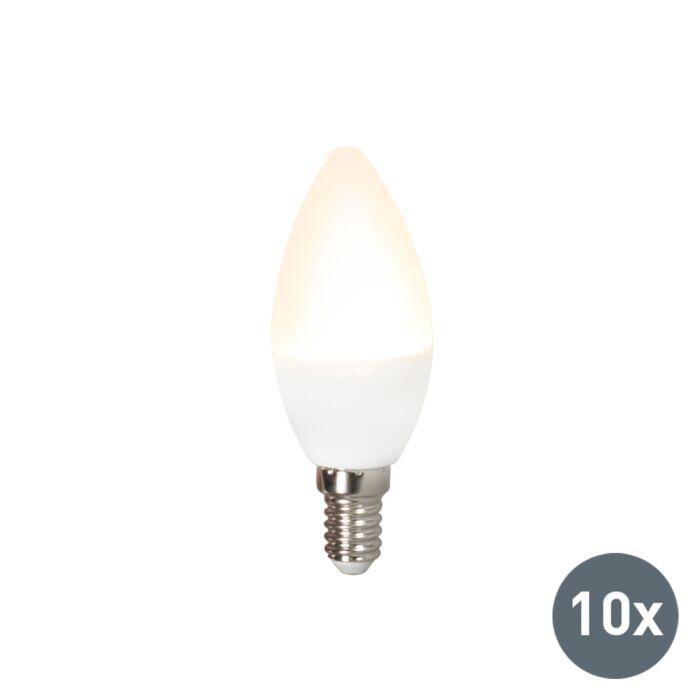 Set-of-10-E14-LED-Candle-C37-3W-250LM