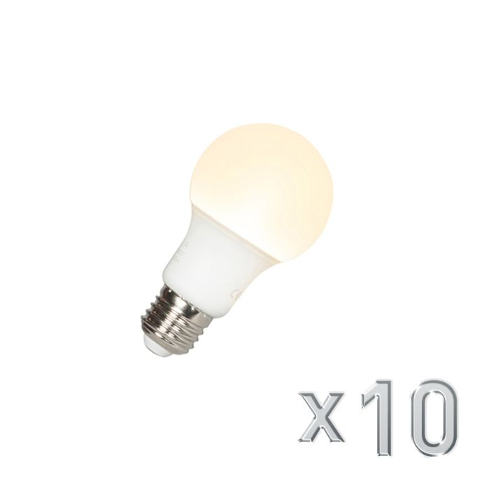 Set-of-10-E27-LED-A60-9W-810LM
