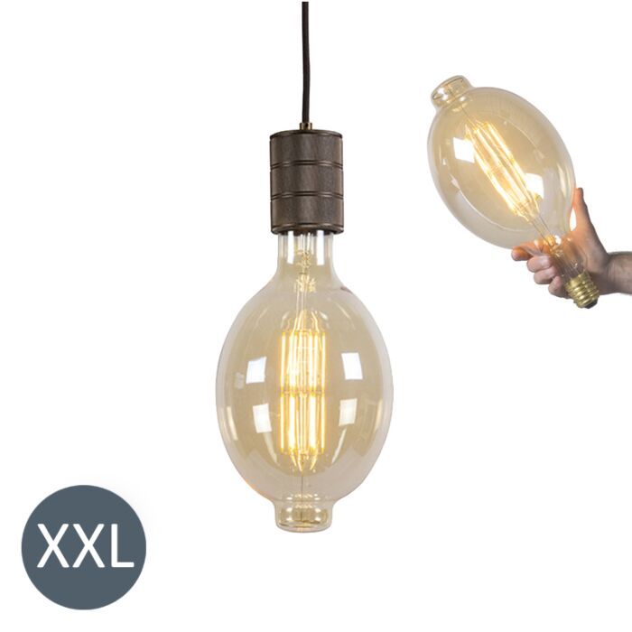 Pendant-Lamp-Colosseum-with-DImmable-LED-Bulb