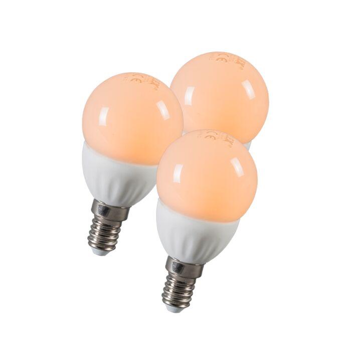 Set-of-3-LED-E14-3W=25W-250LM