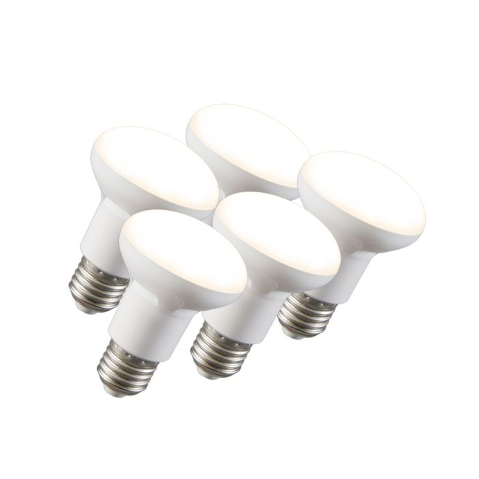 Set-of-5-E27-LED-Reflector-R63-8W-550LM
