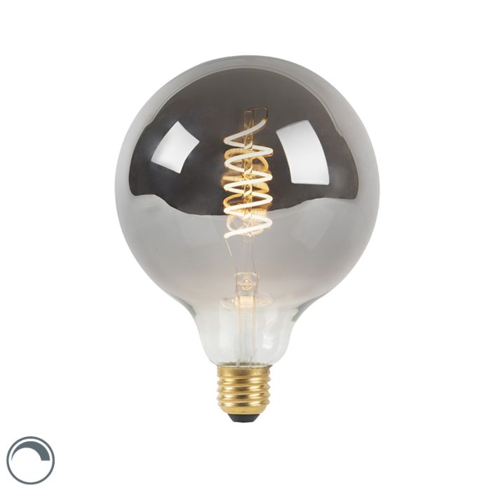 E27-LED-G125-Smoke-4W-100LM-2100K-Dimmable-