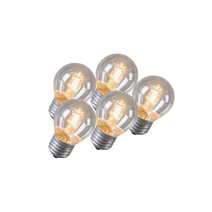 Set-of-5-E27-Halogen-42W-630LM