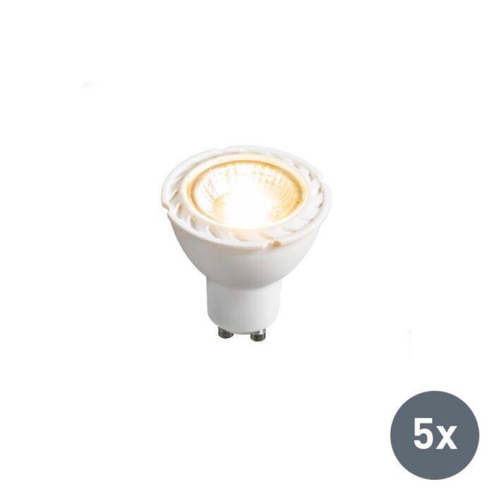 Set-of-5-GU10-LED-7W-550LM