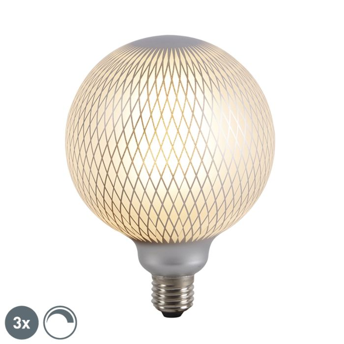 Set-of-3-E27-dimmable-LED-globe-lamps-DECO-4W-320-lm-2700K