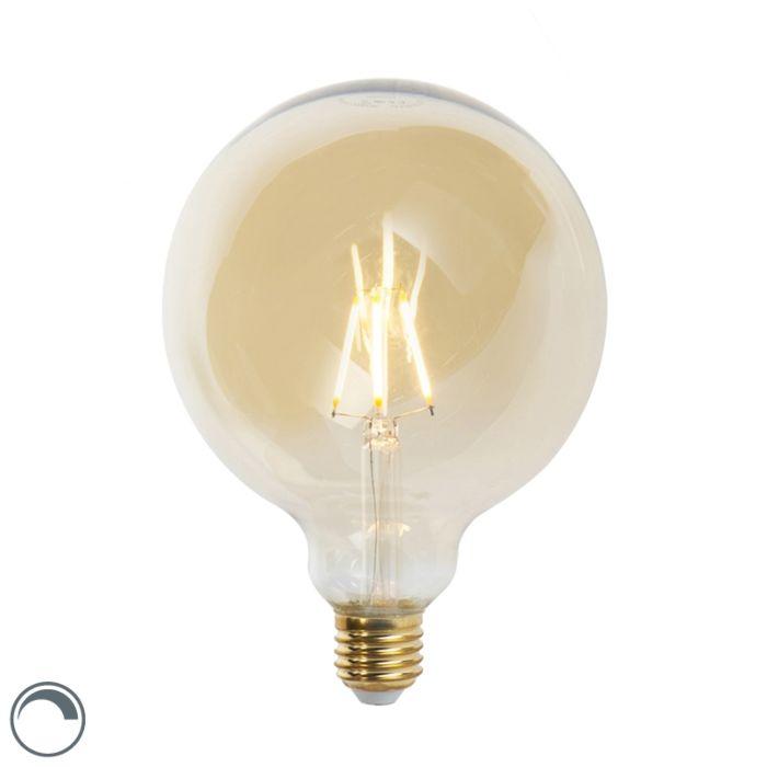 E27-dimmable-LED-filament-lamp-G125-goldline-5W-360-lm-2200K