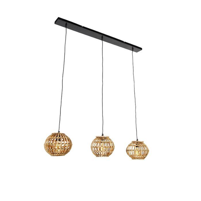 Rural-hanging-lamp-bamboo-3-light---Canna