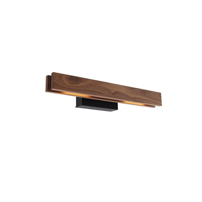 Country-wall-lamp-wood-incl.-LED---Holz