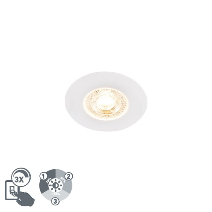 Recessed-spot-white-incl.-LED-3-step-dimmable---Ulo