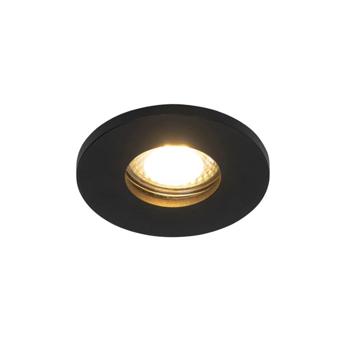 Modern-bathroom-recessed-spot-black-IP54---Shed