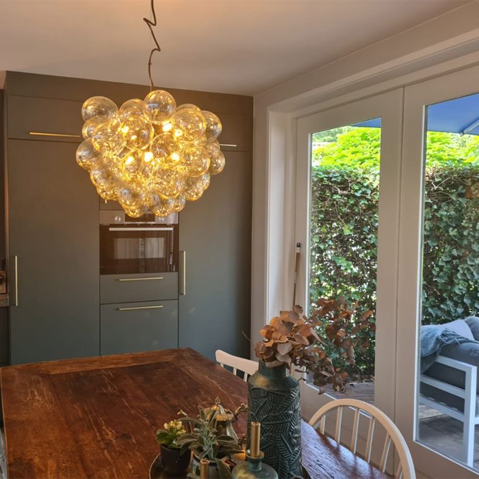 Art-Deco-hanging-lamp-black-with-glass-8-light---Uvas