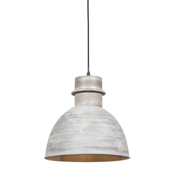 Smart-hanging-lamp-gray-30-cm-incl.-WiFi-A60-light-source---Dory