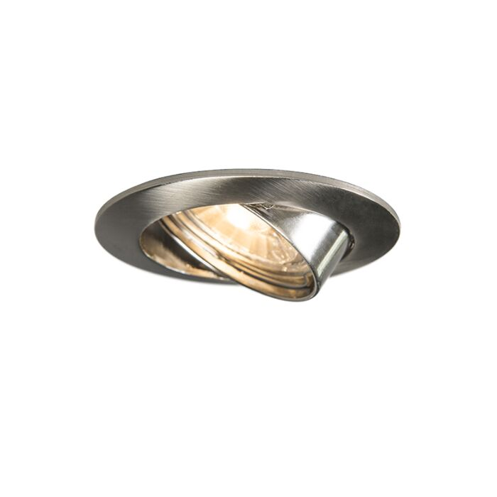 Round-Recessed-Spotlight-Steel---Edu
