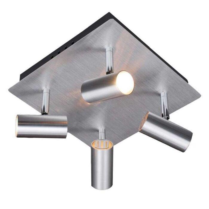 Spotlight-Oslo-4-Aluminium