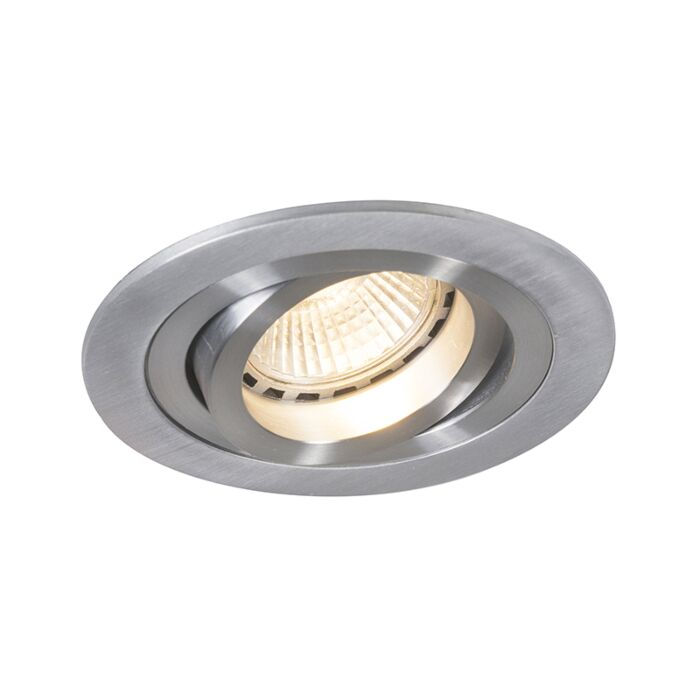 Modern-Recessed-Spotlight-Aluminium---Rondoo