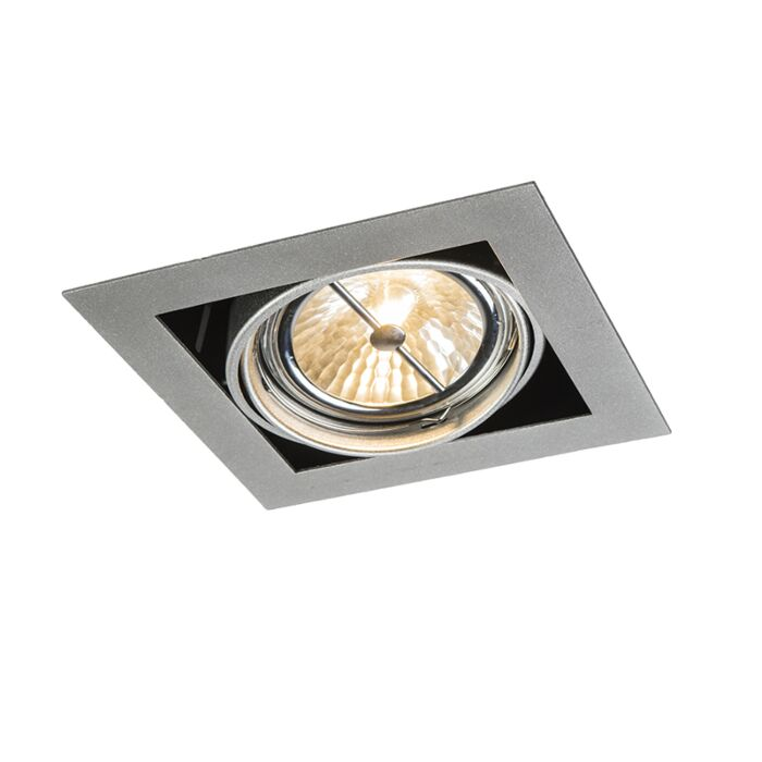 Square-Recessed-Spotlight-Aluminium---Oneon-111-1