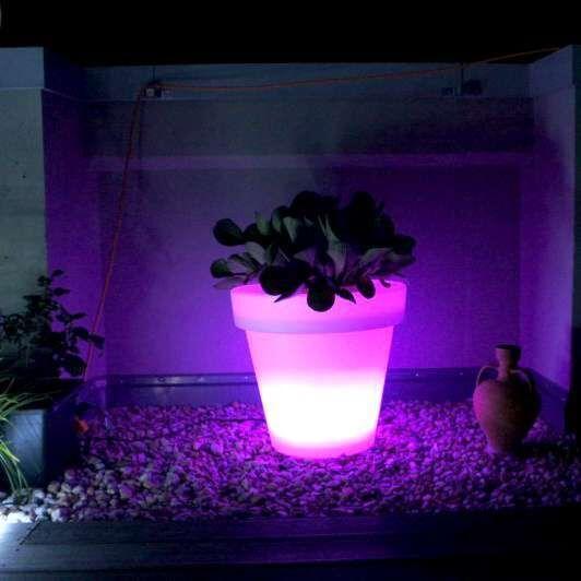 Lightened-Flowerpot-Large