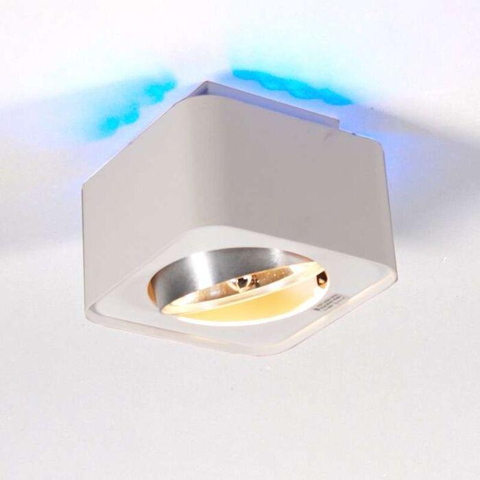 Spotlight-Boxer-111-white-1-incl.-LED