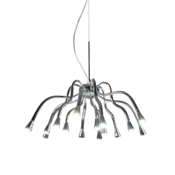Hanging-lamp-Angeline-LED-chrome
