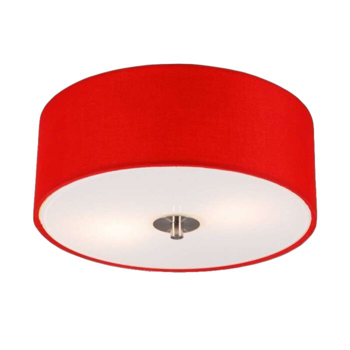 Modern-Ceiling-Lamp-30cm-Red---Drum