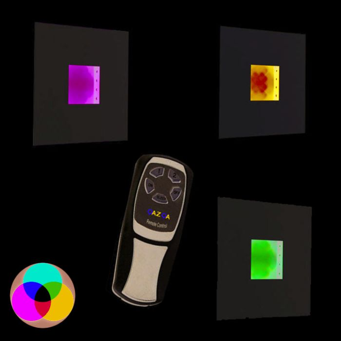 Wall-lamp-Plate-RGB-LED-white