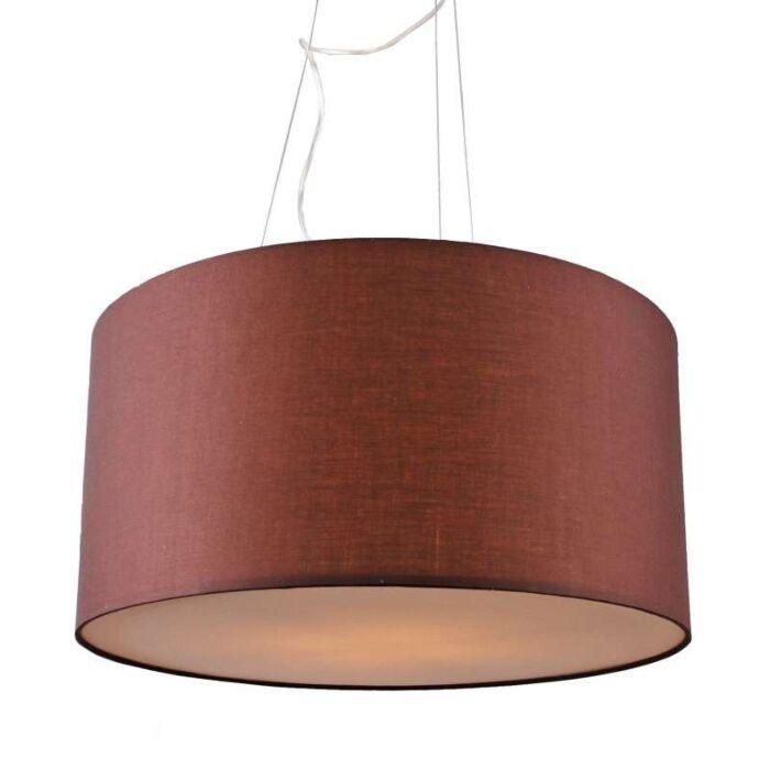 Hanging-lamp-drum-60-brown