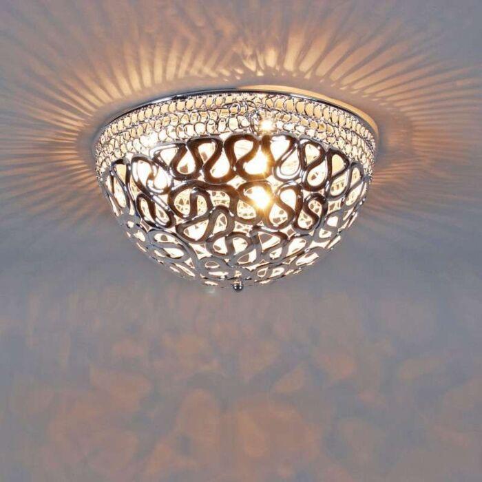 Ceiling-lamp-Pharaoh-40-chrome