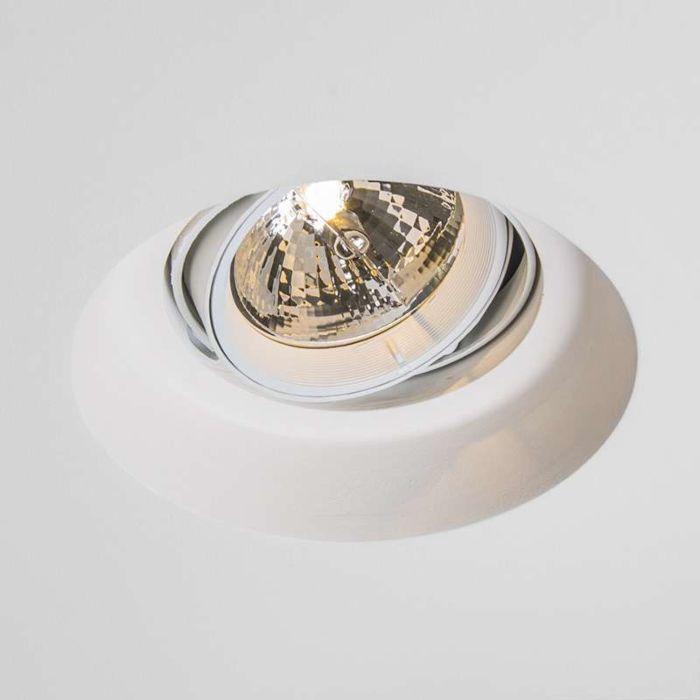 Recessed-Spotlight-Gipsy-Zero-Round-I-G53-AR111