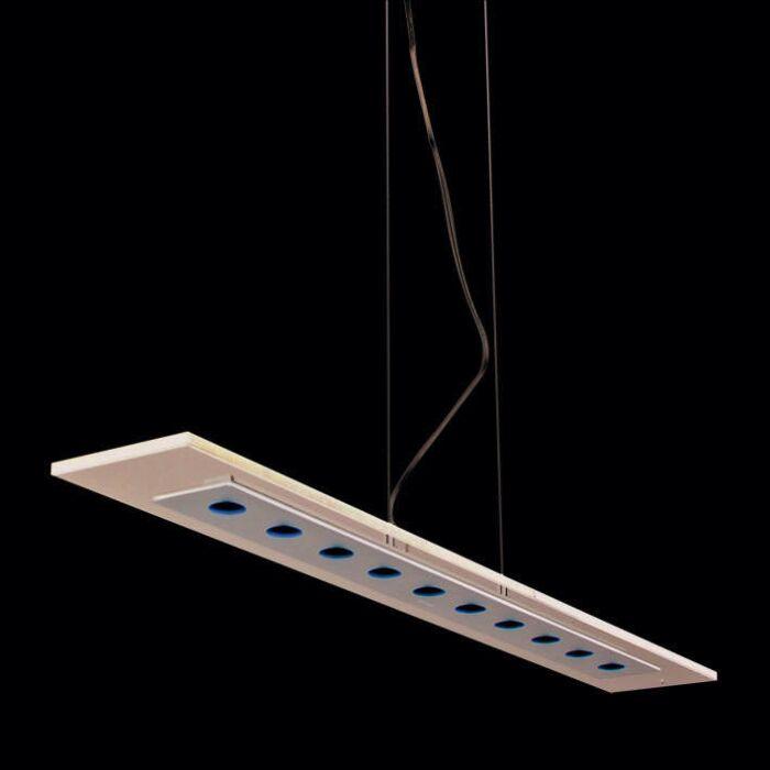 Hanging-lamp-Credo-Straight-100-LEDs-Black