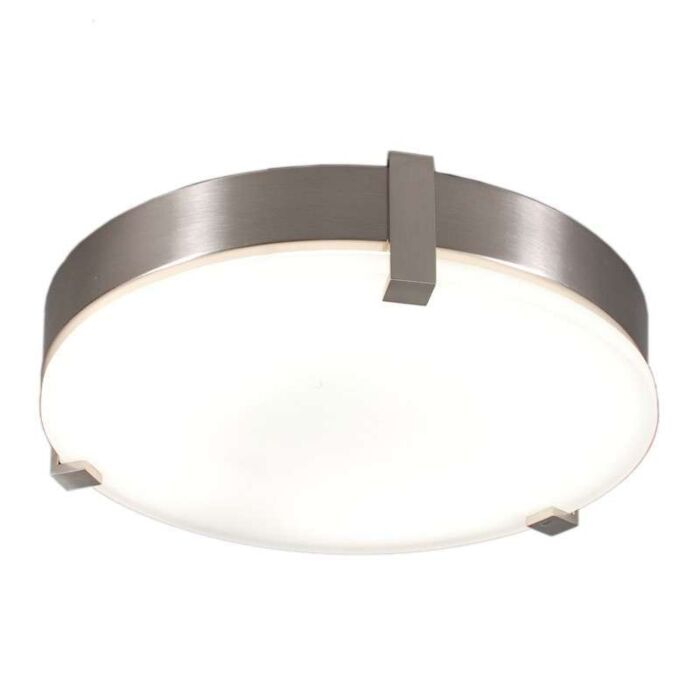 Ceiling-lamp-Crook-round-32W-steel