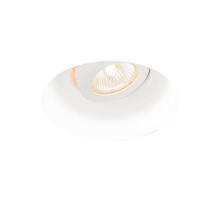 Modern-recessed-spot-tiltable---Gipsy-Zero-I