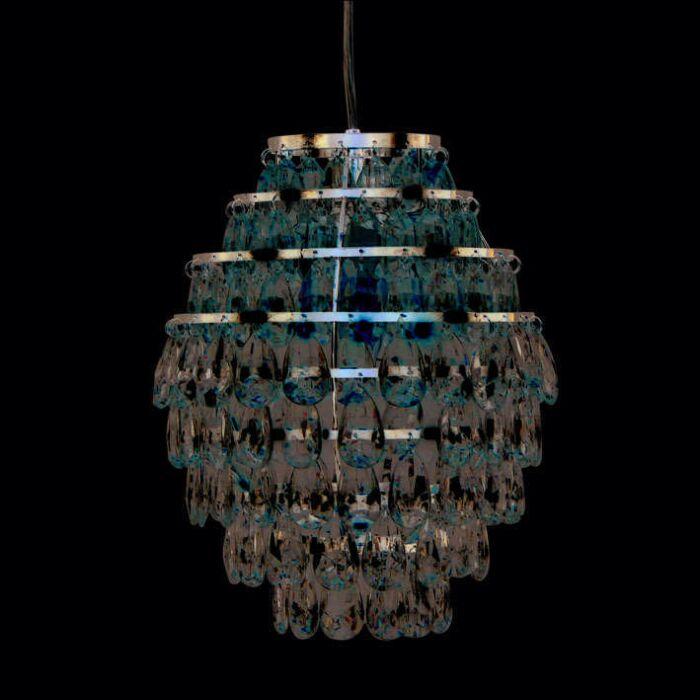 Pendant-Lamp-Pinecone-Chrome