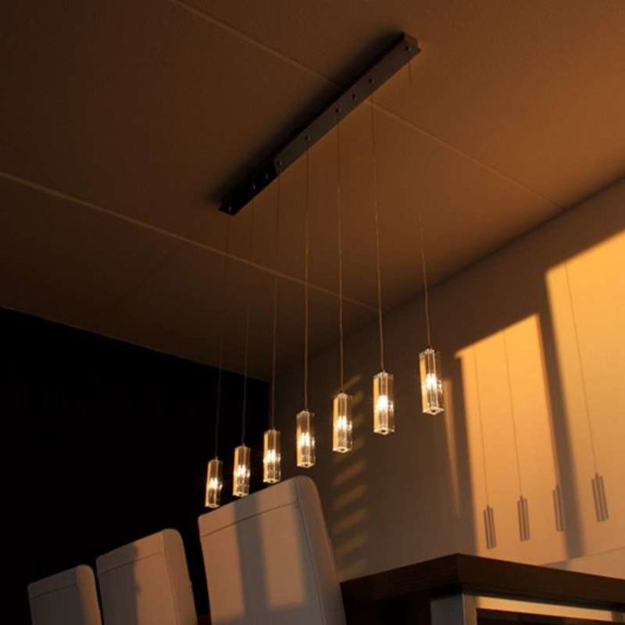 Hanging-Lamp-Ceres-7-Chrome