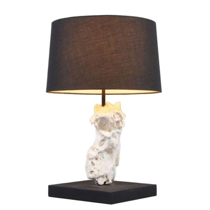 Table-Lamp-Kanya-White---Black-Shade