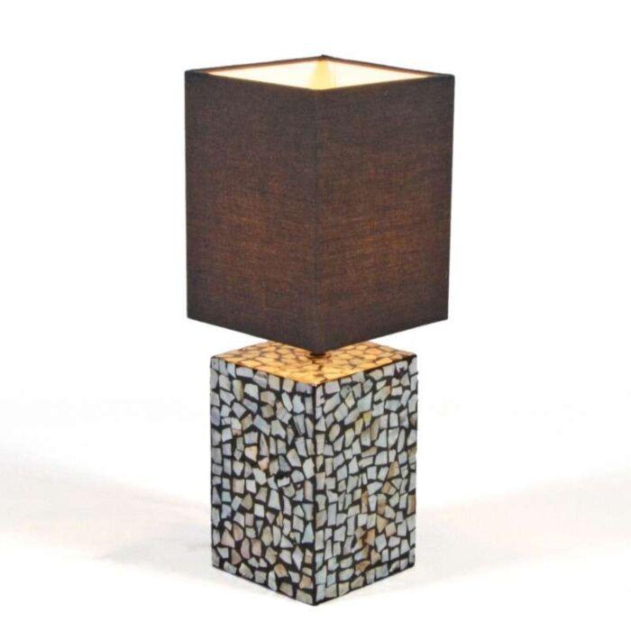 Table-Lamp-Pearl---Black-Shade
