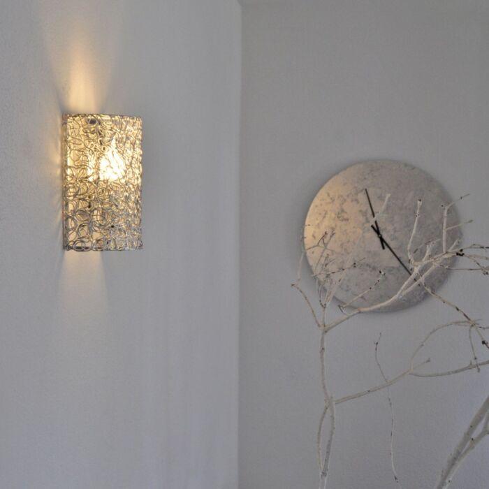 Wall-Lamp-Draht-Half-Aluminium