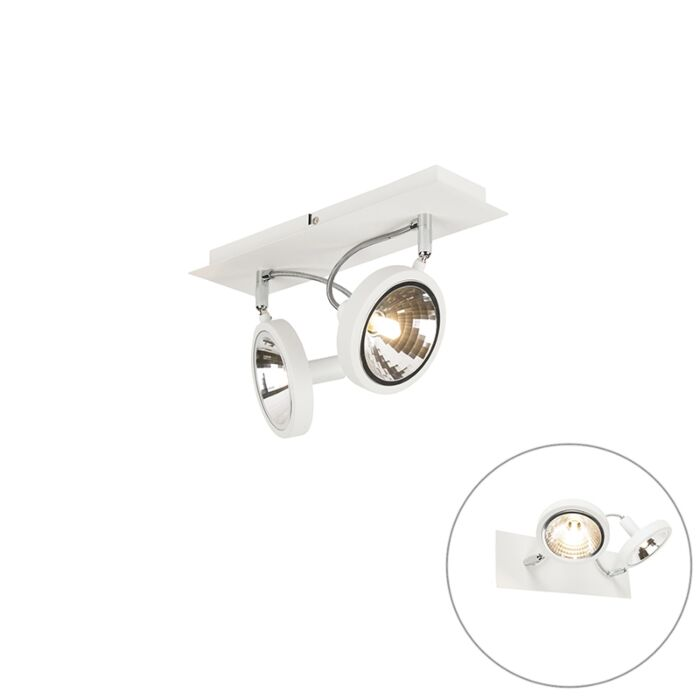 Modern-Adjustable-Spotlight-2-White---Nox