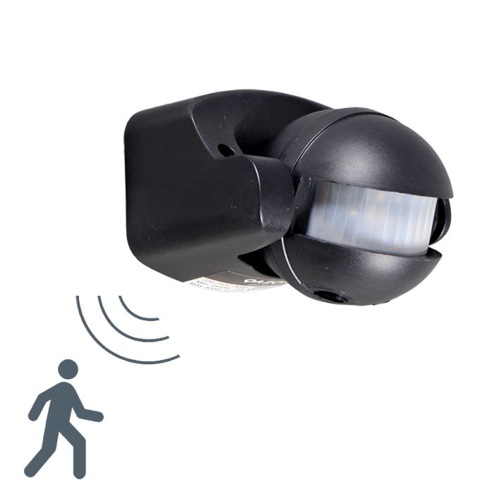 PIR-Motion-Detector-Wall-Black