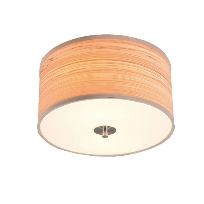 Ceiling-Lamp-Drum-30-Wood