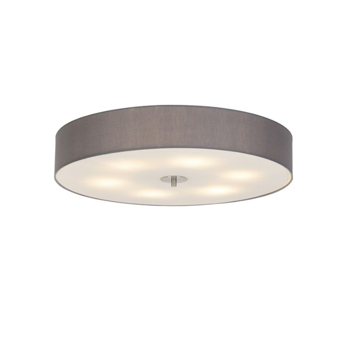Country-ceiling-lamp-gray-70-cm---Drum