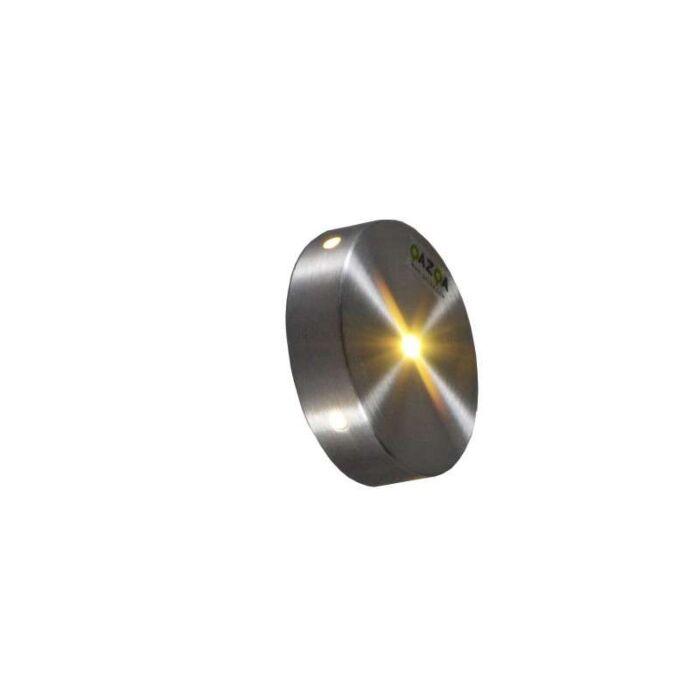 Built-in-Wall-Light-Quartz-Round-IV-Aluminium