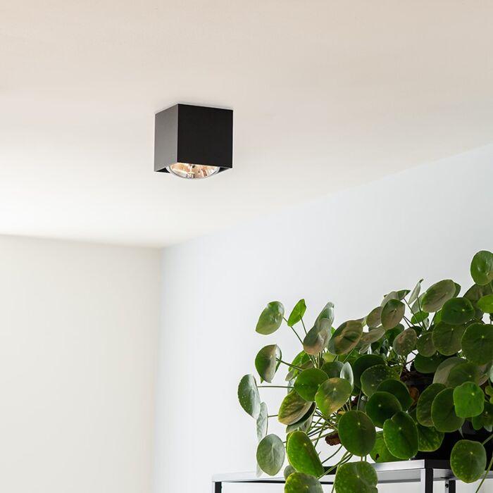 Design-spot-square-1-light-black-incl.-1-x-G9---Box